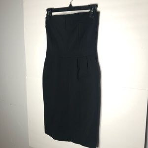 Express Strapless Black Knit Dress